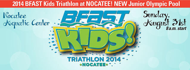 BFAST Kids Triathlon at Nocatee, Ponte Vedra