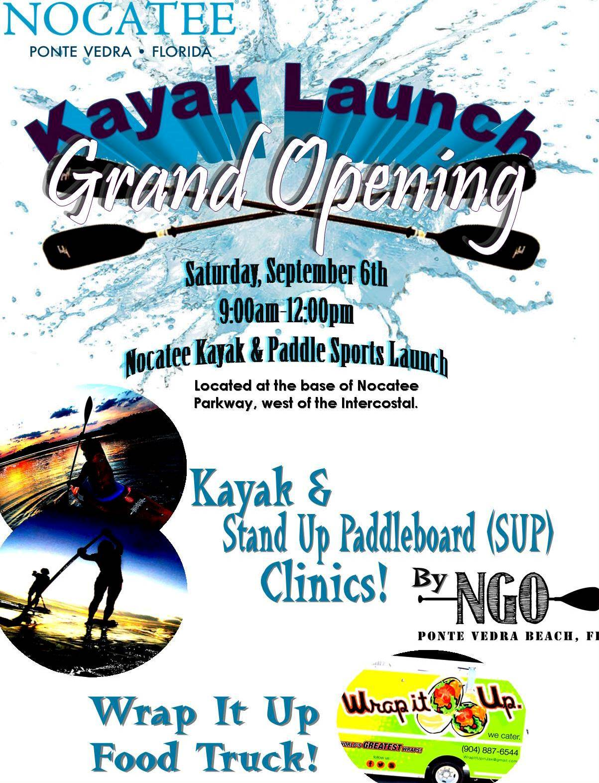 Nocatee Kayak and Paddle Sports Launch Grand Opening Event