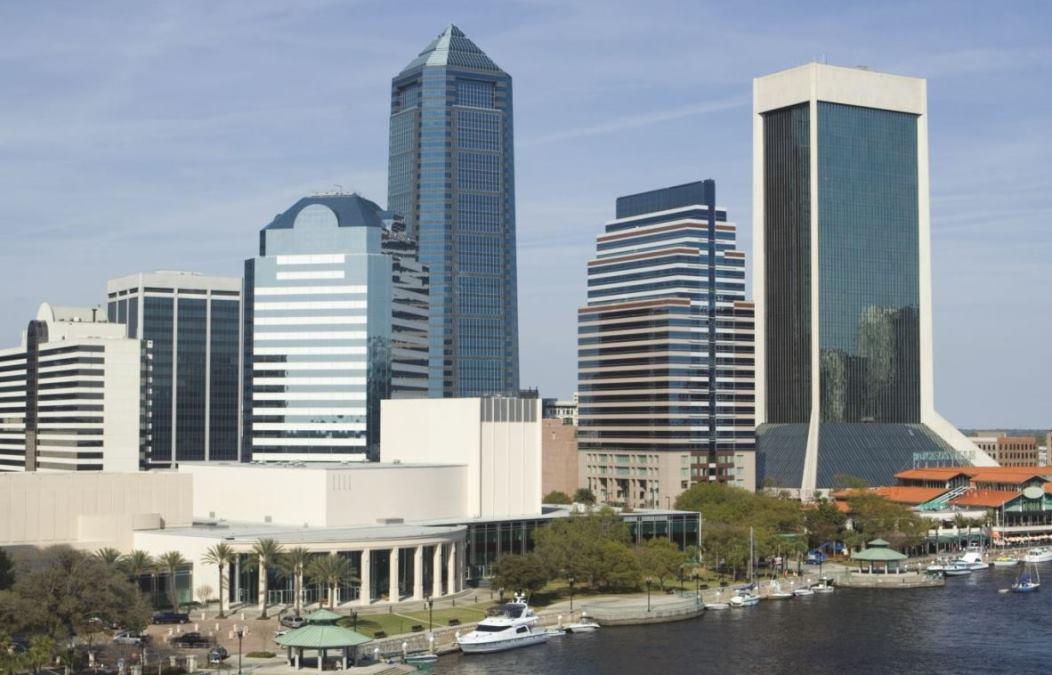 Downtown Jacksonville Florida