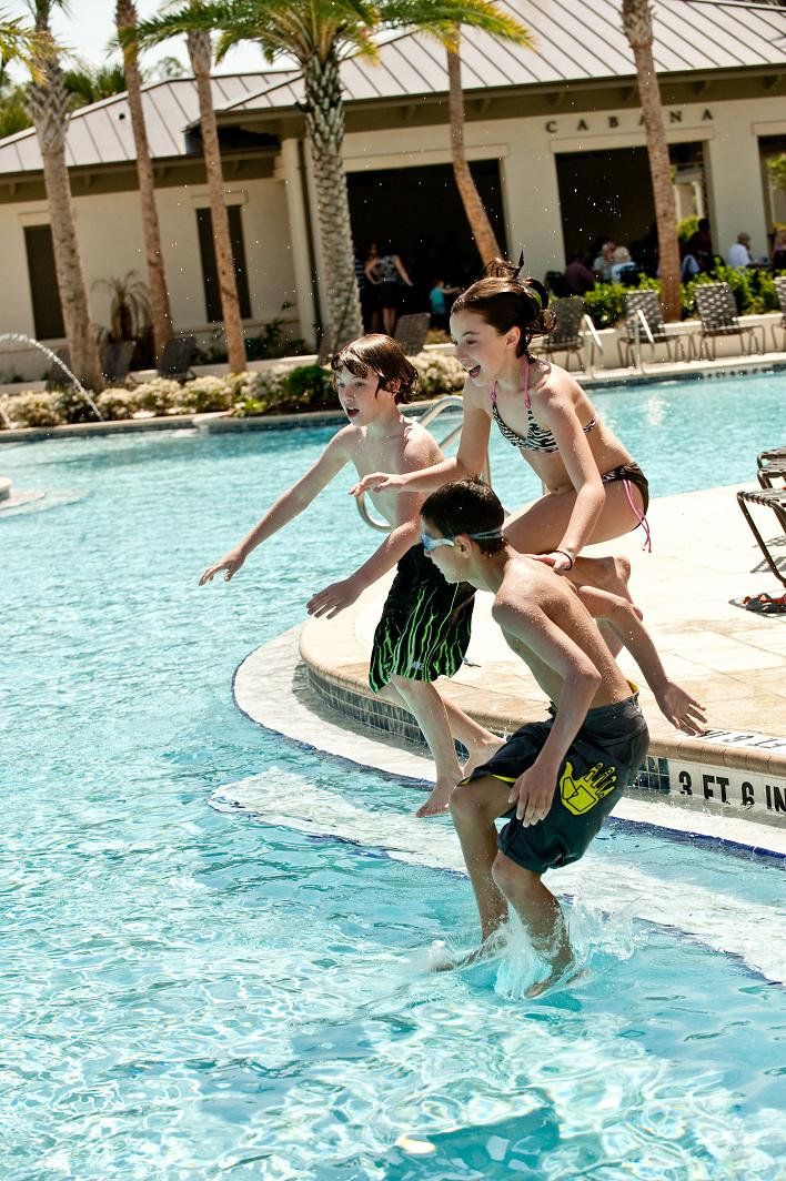 Outdoor Play for Kids at Nocatee Splash Water Park