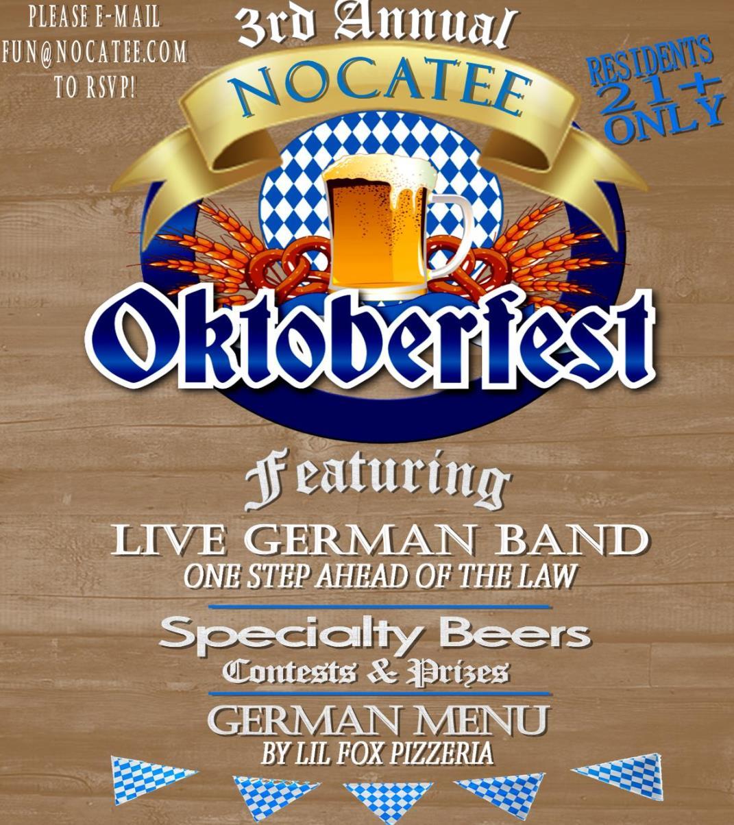 Nocatee Oktoberfest at Splash Water Park