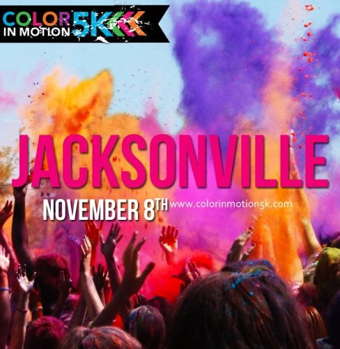 Color In Motion 5K Jacksonville at Nocatee, Ponte Vedra
