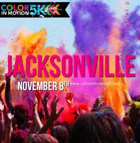 Color In Motion 5K Jacksonville at Nocatee, Ponte Vedra