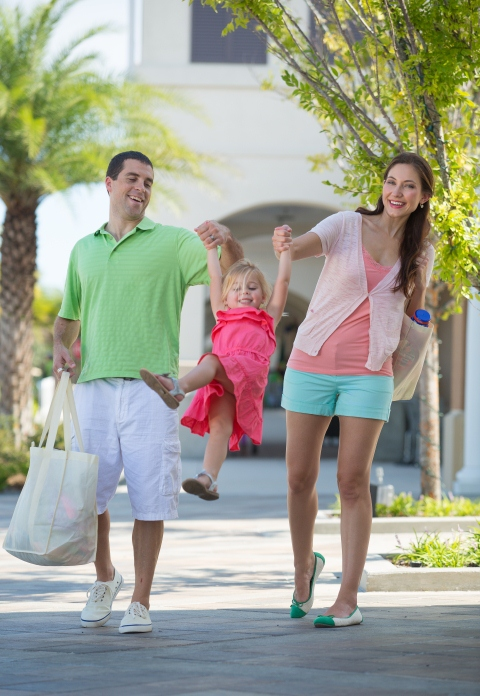 Families at Nocatee Town Center