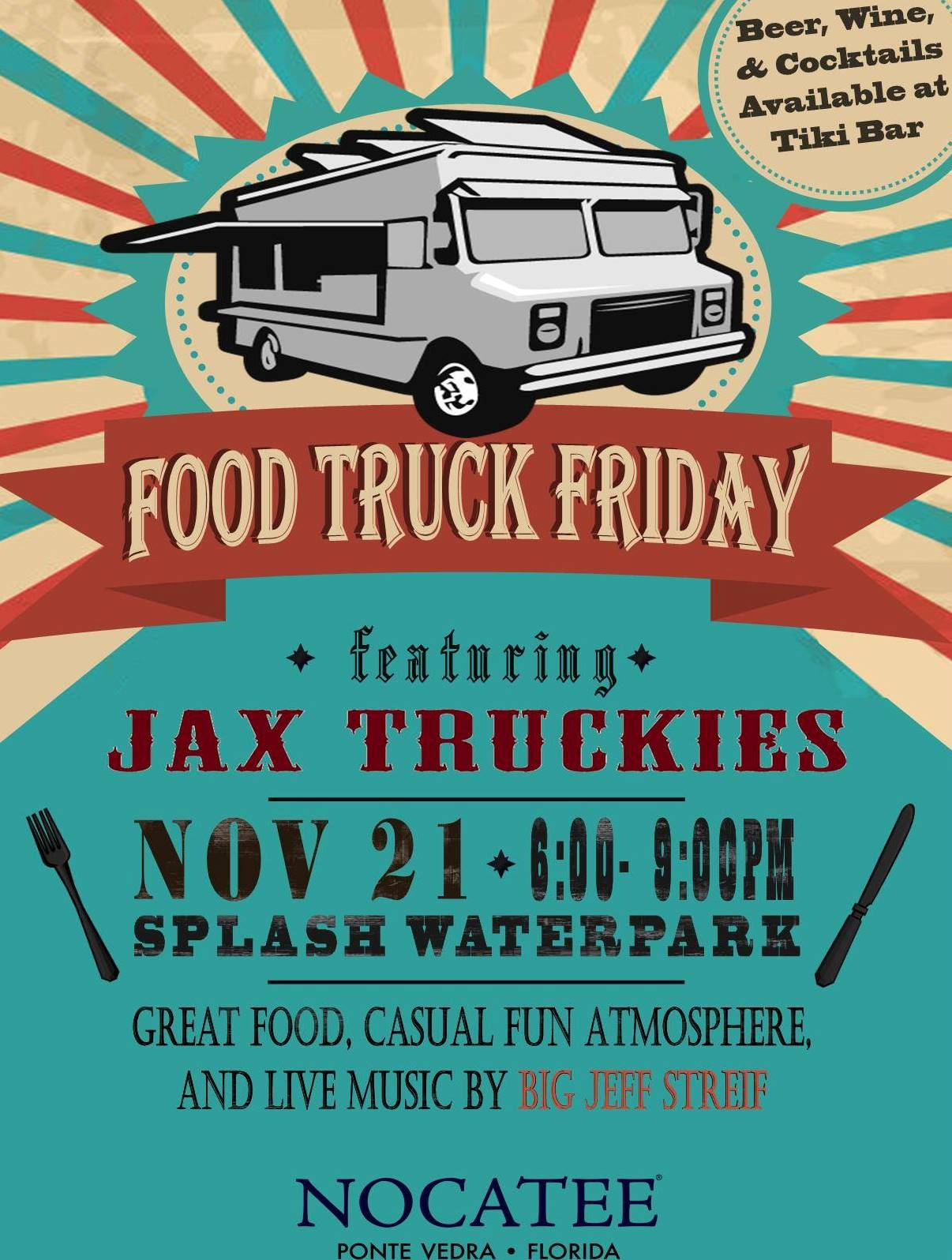 Food Truck Friday at Nocatee Splash Water Park
