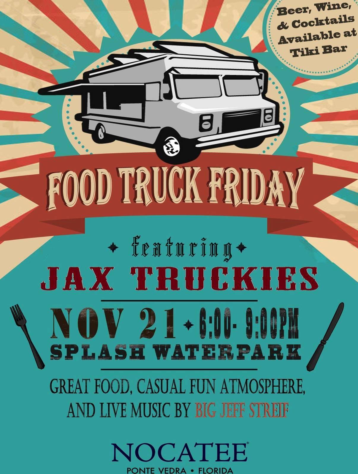 Food Truck Friday at Nocatee Splash Water Park