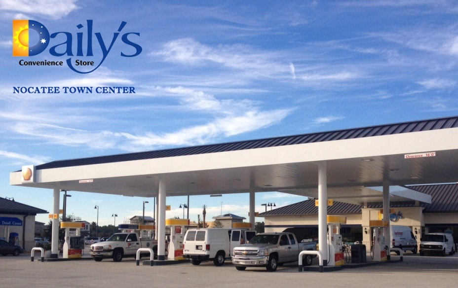 Daily's Store and Gas Station at Nocatee Town Center
