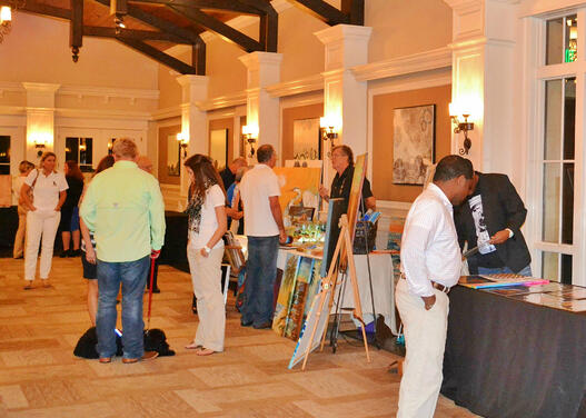 Nocatee Art Show and Auction Benefit K9s for Warriors