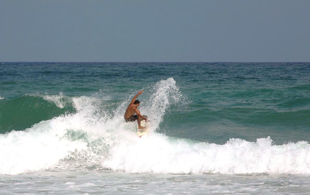 Florida Outdoor Hobbies include Surfing