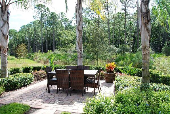 Nocatee backyard