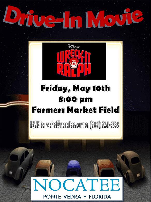Drive In Movie May 10th