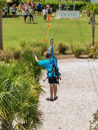 Nocatee Zipline at Splash Water Park