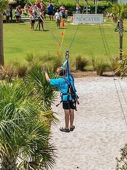 Nocatee Zipline at Splash Water Park