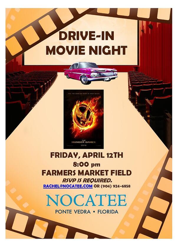 Nocatee Drive in Movie