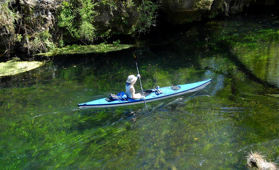Canoeing in Florida springs