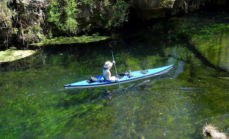 Canoeing at Florida springs