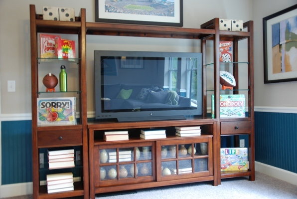 Entertainment Center at Nocatee Model Home