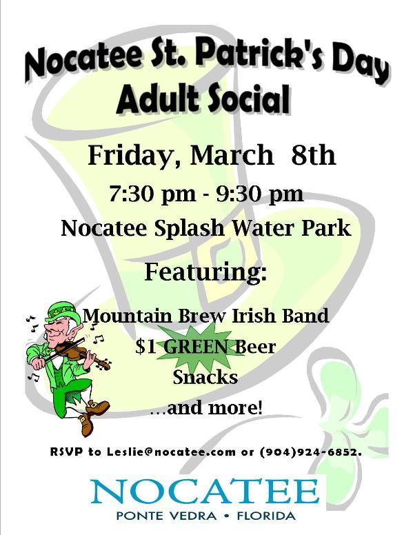Nocatee adult event