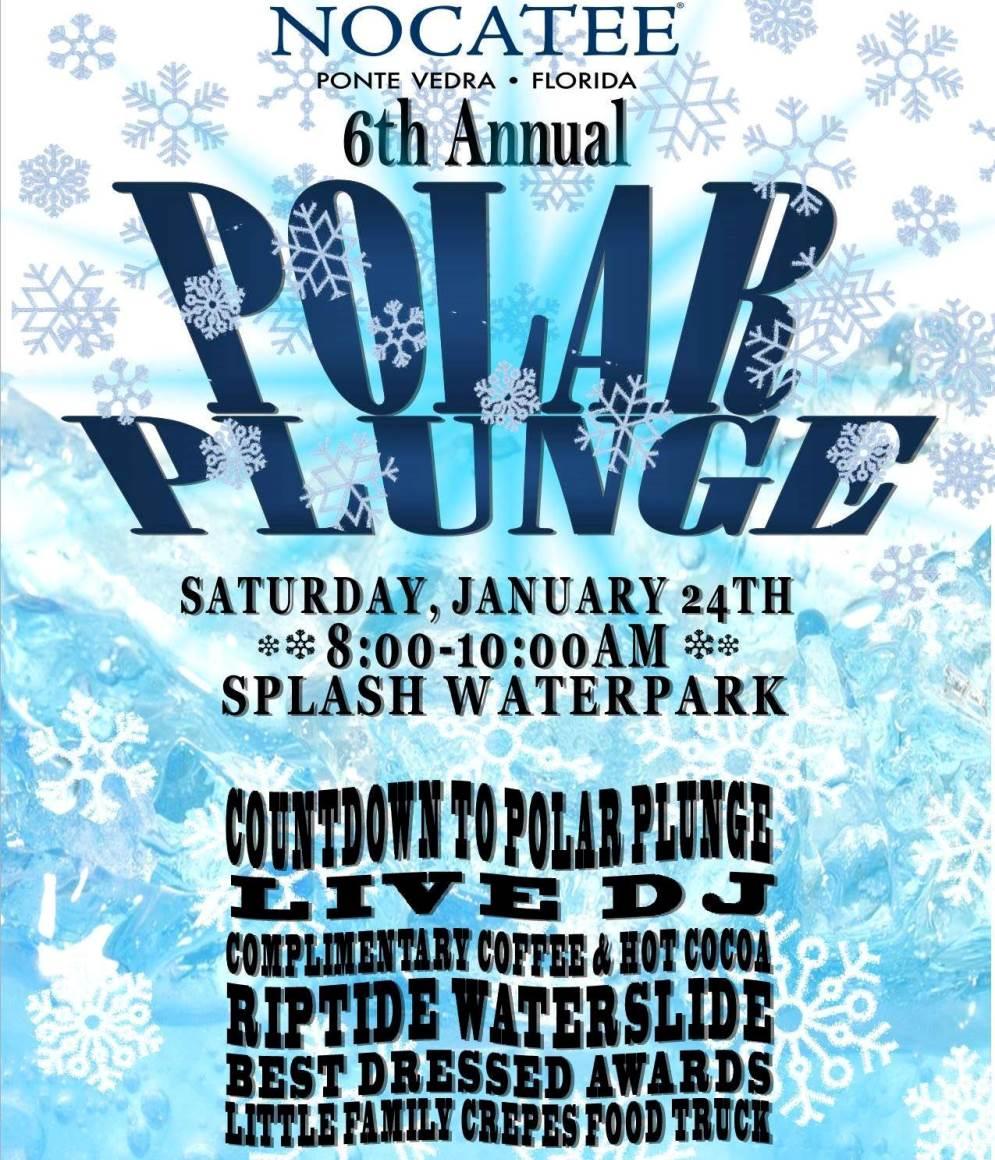 2015 Polar Plunge at Nocatee