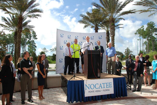 Governor Rick Scott at Nocatee