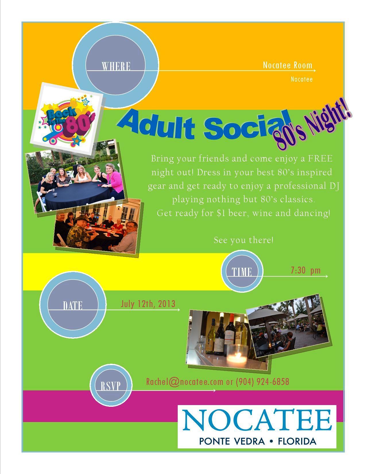 nocatee adult social