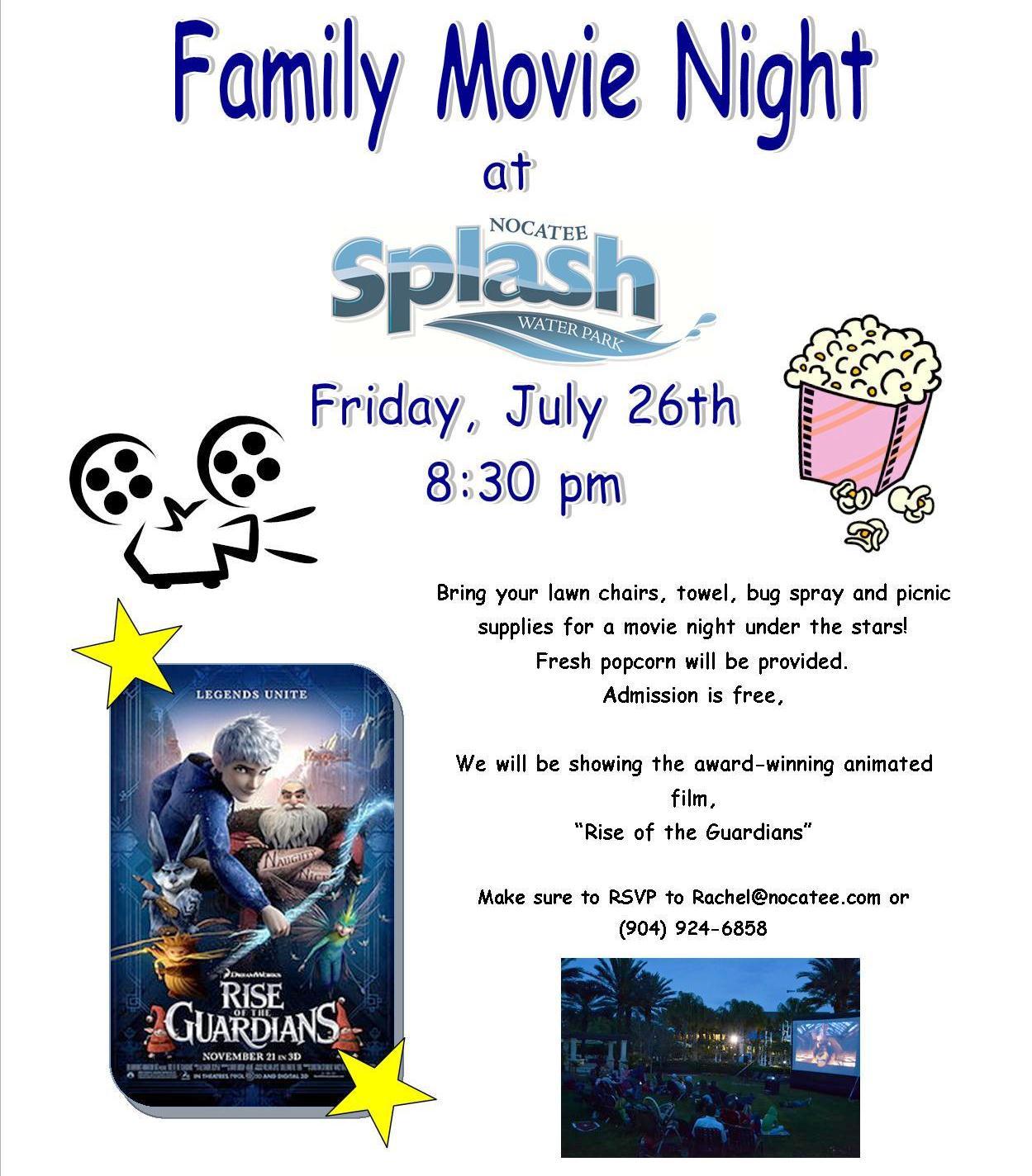 Nocatee Family Movie Night