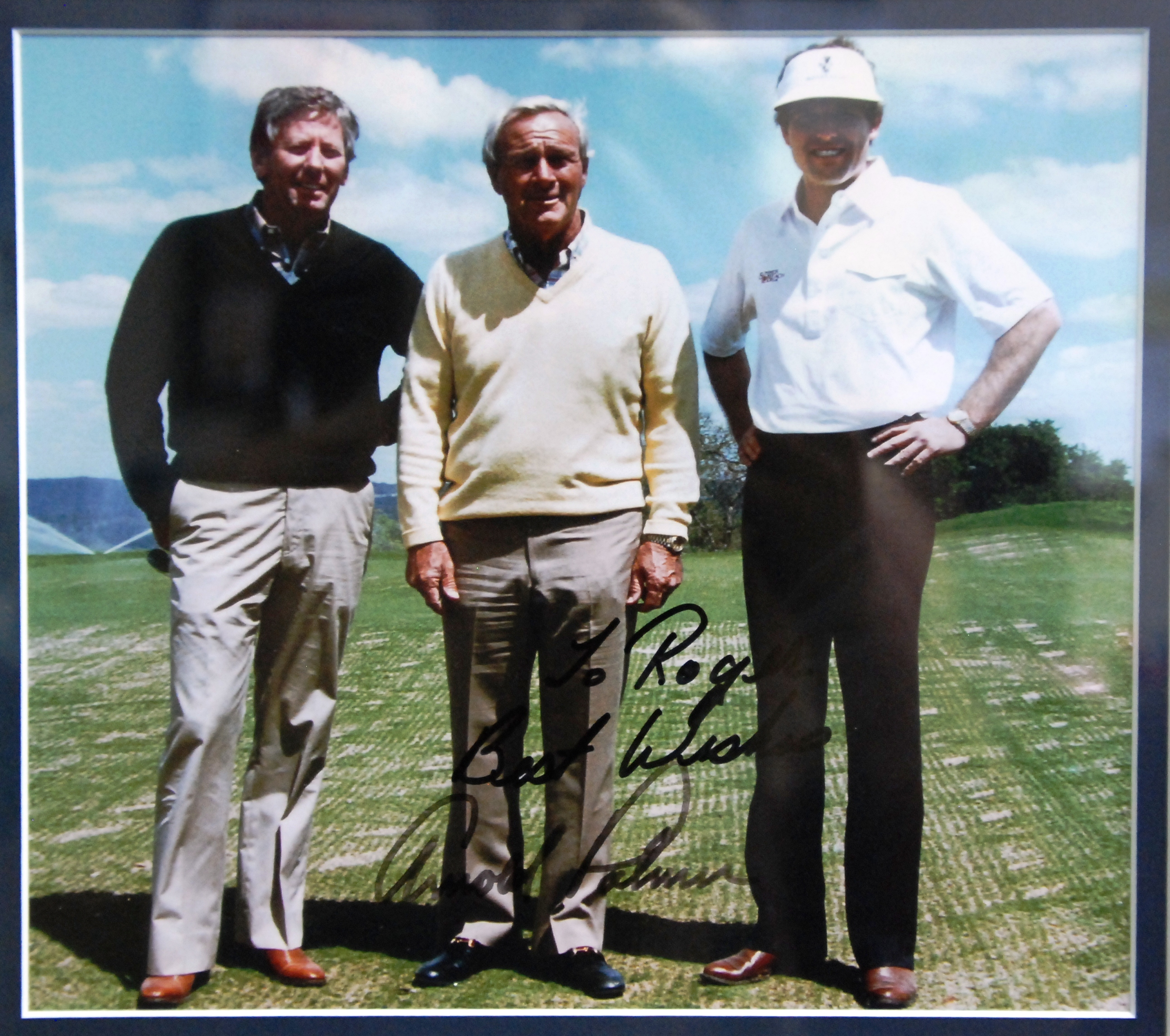 Chester Stokes, Arnold Palmer and Roger O'Steen