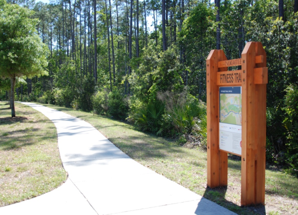 Nocatee Fitness Trail Signage