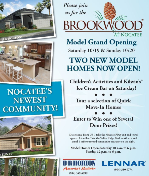 Brookwood at Nocatee Grand-Opening Event