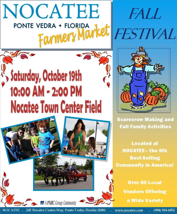 Nocatee Farmers Market and Fall Festival