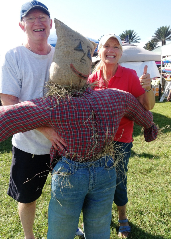 Nocatee Fall Festival Scarecrow Building
