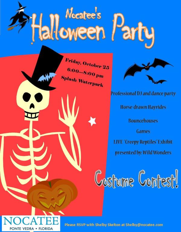 Nocatee Halloween Party