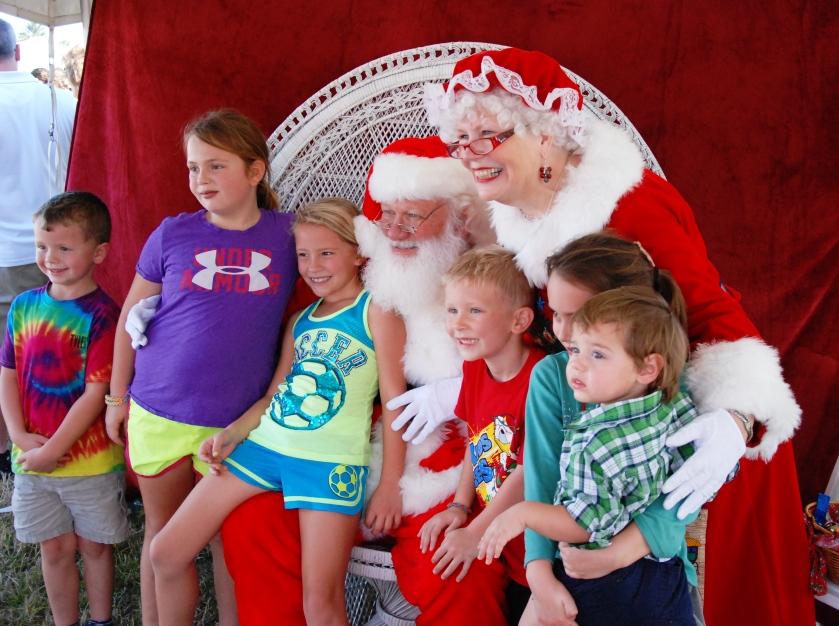 Santa at Nocatee Farmers Market