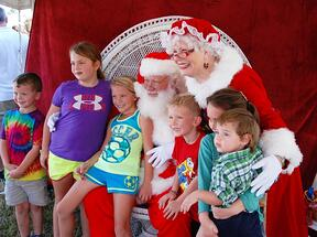 Santa at Nocatee Farmers Market
