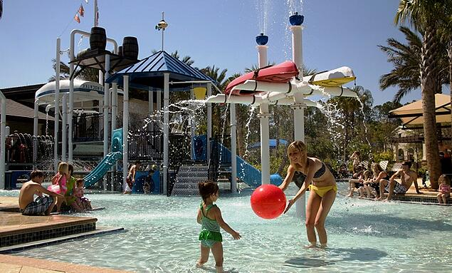 Amenities and Water Recreation at Nocatee Splash Water Park