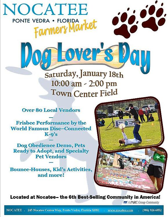Nocatee Dog Lovers Day Farmers Market