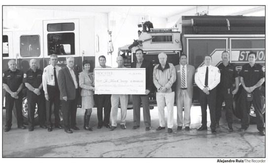 PARC Group at St. Johns County Nocatee Fire Station Ceremony