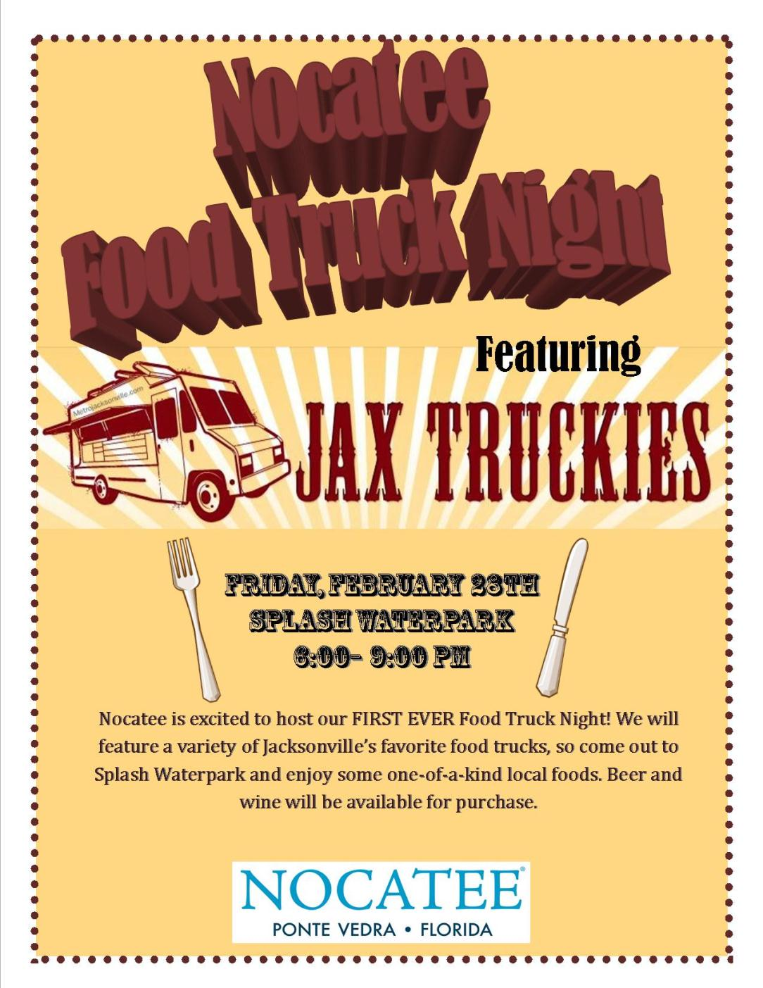 Nocatee Food Truck Night 2014