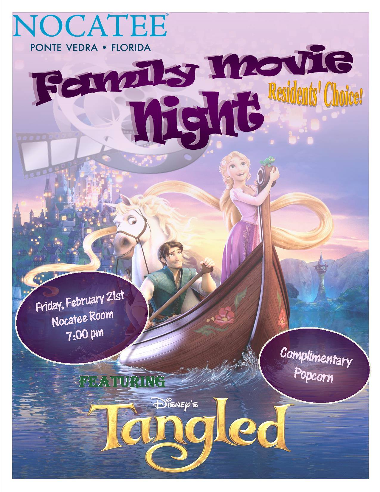 Disney's Tangled - Nocatee's Family Movie Night