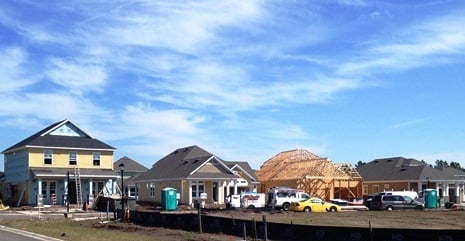 Nocatee Homes Under Construction