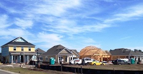 Nocatee Homes Under Construction
