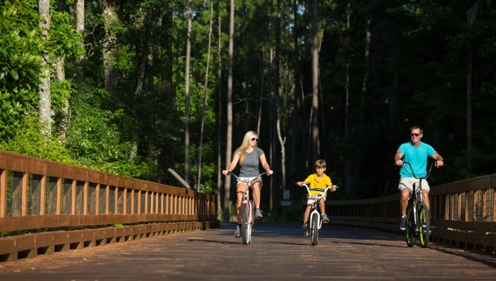 Greenway Trails at Master Planned Community