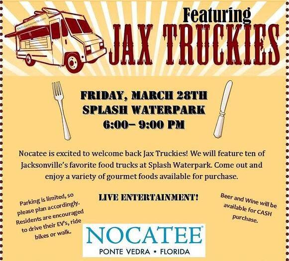 Nocatee Food Truck Night featuring Jax Truckies