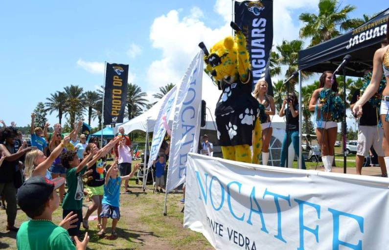 Jacksonville Jaguars Rally at Nocatee Town Center