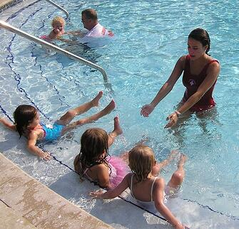Nocatee Swim Lessons at Splash Water Park