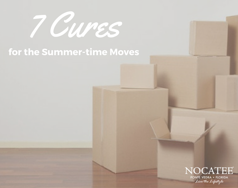 7 cures for summer-time moves
