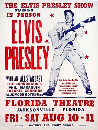 1956 Florida Theatre Poster (Google Images)