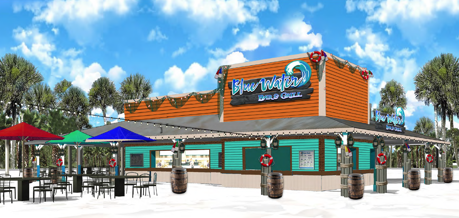 Blue Water Bar and Grill