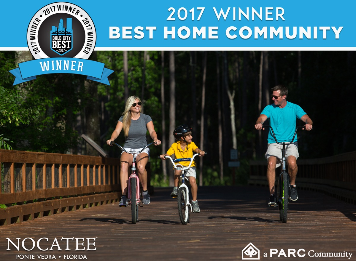 Nocatee Named Bold City Best Winner