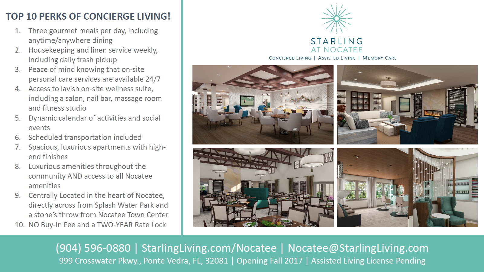 Starling at Nocatee Concierge Living Top 10